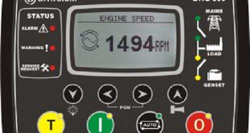 Bảng điều khiển máy phát điện bằng tay