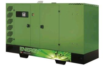 Tổ máy phát điện ENERGY nhập khẩu nguyên chiếc tại Italia 300 kVA