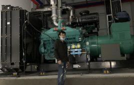 Cung cấp 02 máy phát điện Cummins Aosif 1250 kVA cho nhà máy UJU tại KCN Khai Quang, Vĩnh Phúc