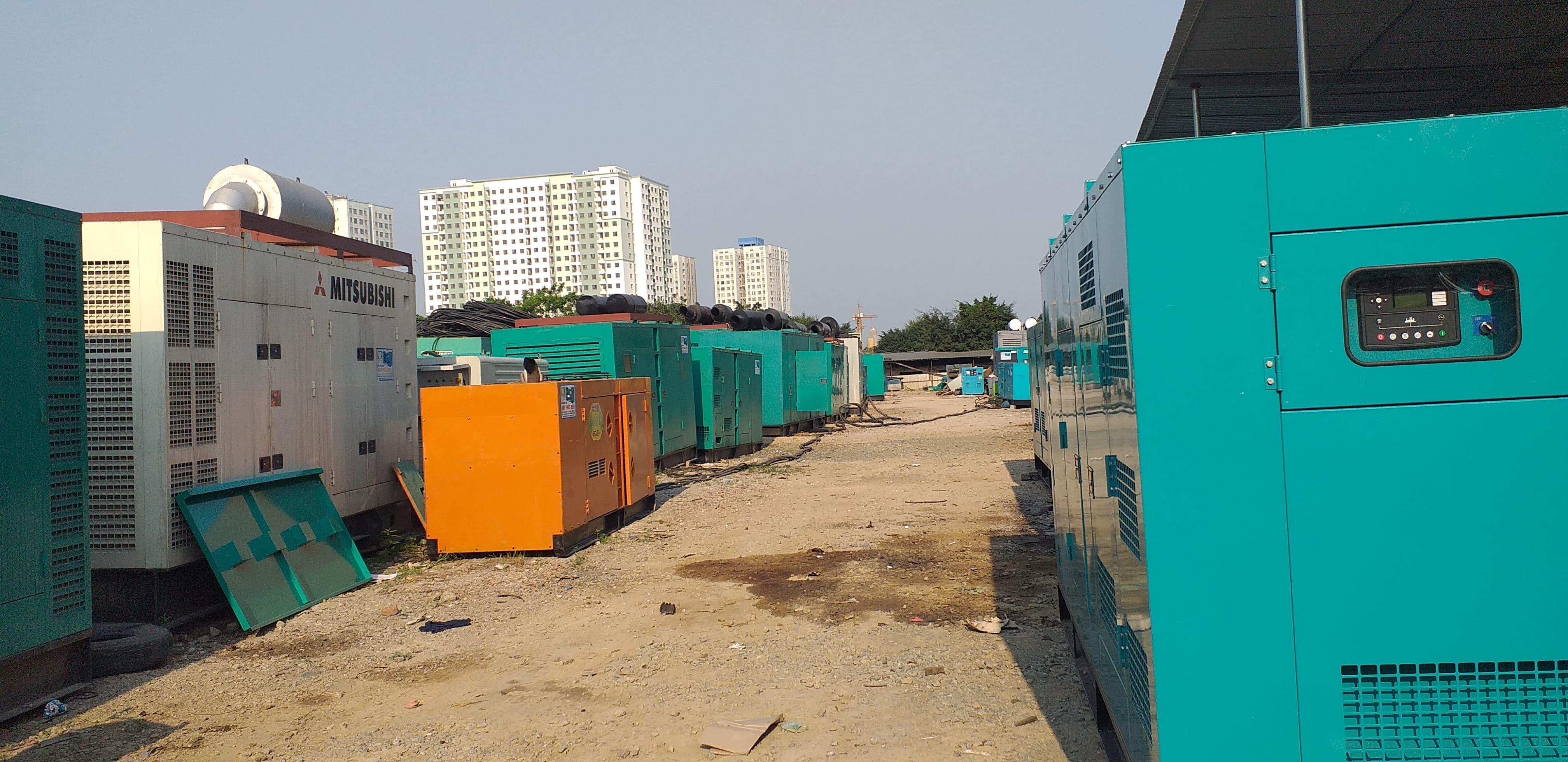 Bán và cho thuê máy phát điện tại các tỉnh Miền Bắc 0983 195 826