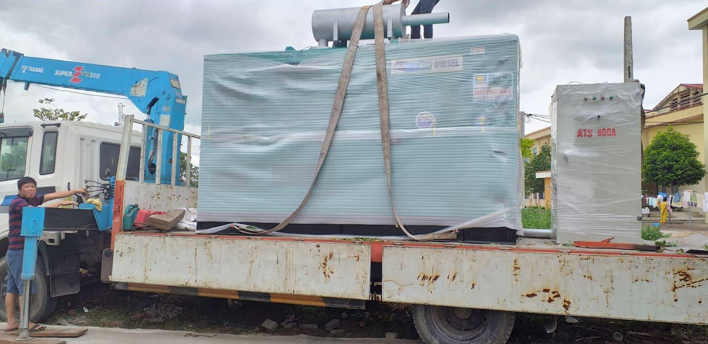 Máy phát điện doosan 500 KVA cung cấp  cho CT TNHH SHINTS BVT