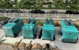 Cung cấp 4 tổ máy phát điện Doosan 750 KVA tại khu công nghiệp Bá Thiện